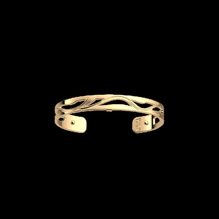 Bracelet Les Georgettes Les Essentielles Vibrations, finition dorée, 8mm