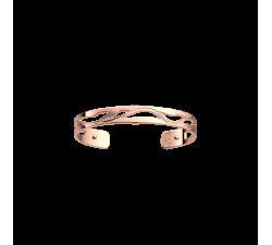 Bracelet Les Georgettes Les Essentielles Vibrations, finition dorée rose, 8mm