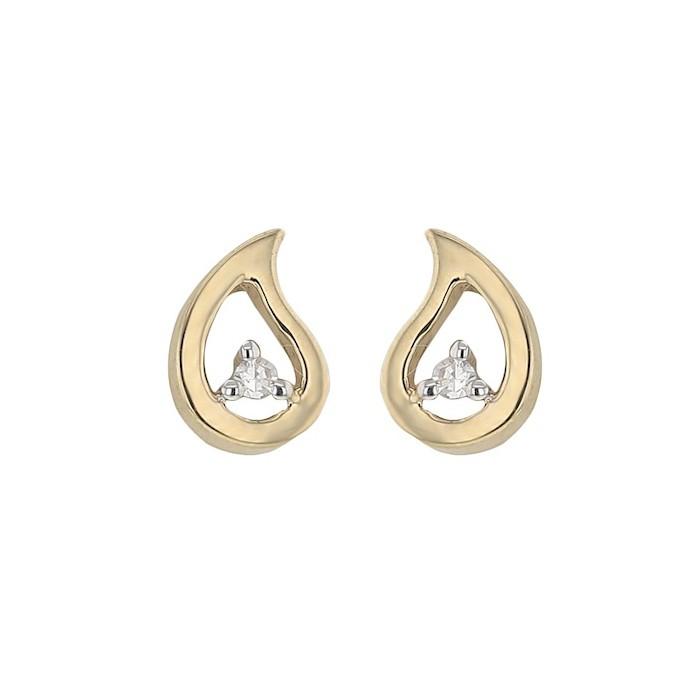 Boucles d'oreilles DIAMANT