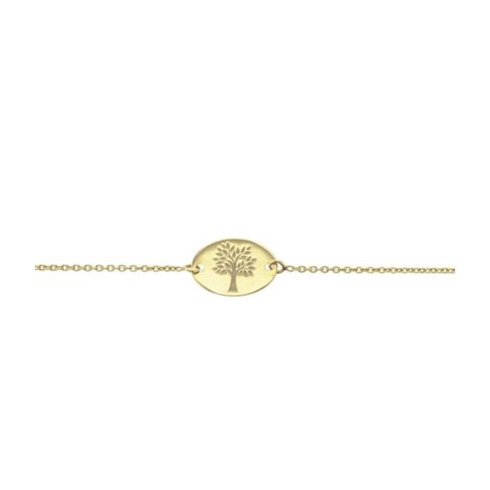 Bracelet Arbre de Vie enfant, or