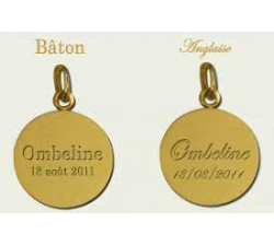 MEDAILLE ANGE