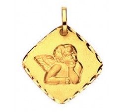 MEDAILLE ANGE, OR JAUNE