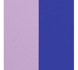 Cuir pour manchette Les Georgettes  25mm Lilas Pastel / Bleu Roi