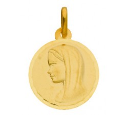 MEDAILLE VIERGE, OR JAUNE